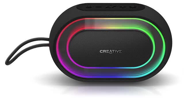 CREATIVE HALO Bluetooth Wireless, black