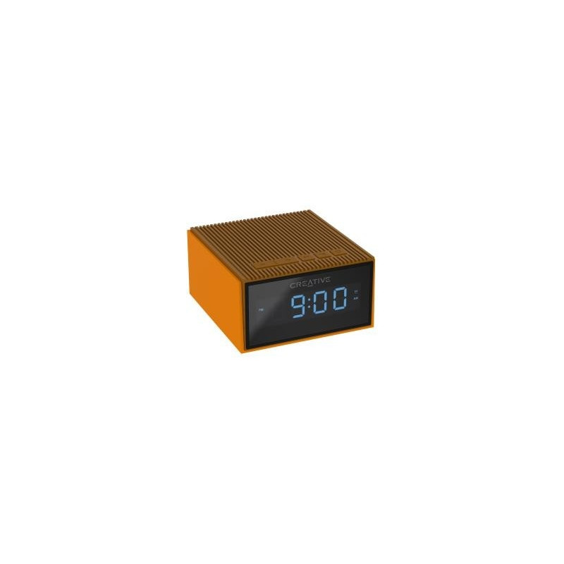 CREATIVE CHRONO Wireless speaker alarm clock,gold