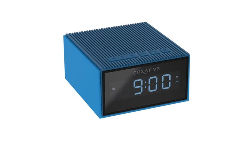 CREATIVE CHRONO Wireless speaker alarm clock,blue