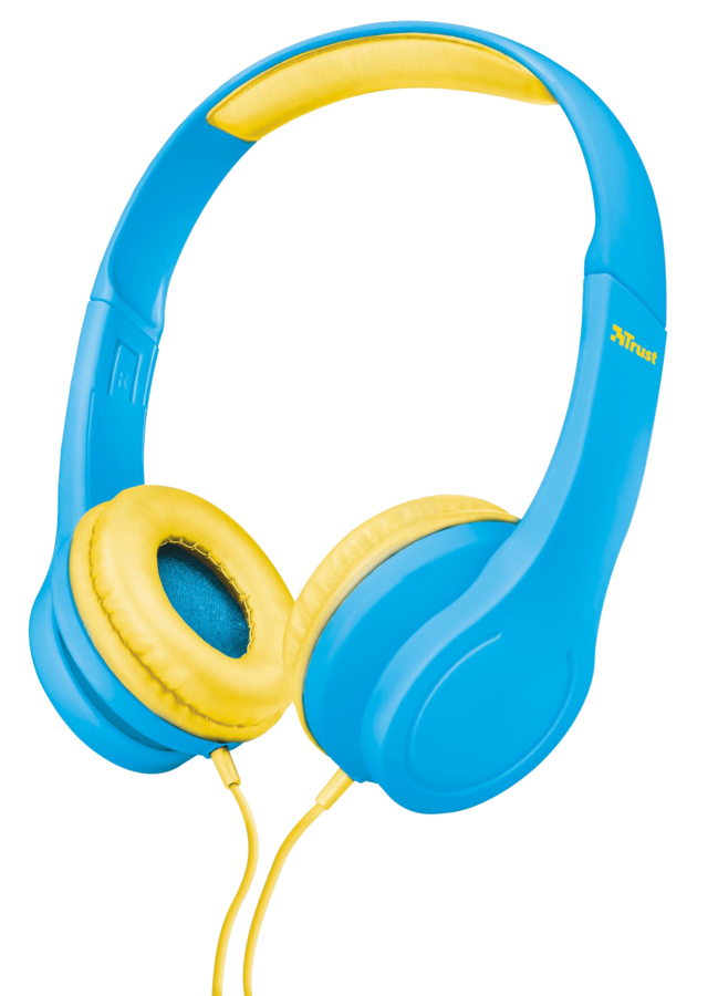 náhlavní sada TRUST Bino Kids Headphone - blue