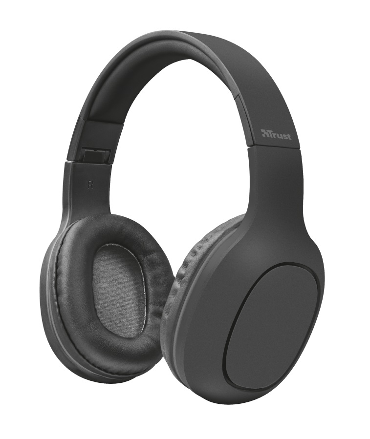 TRUST Bluetooth Headphones - grey