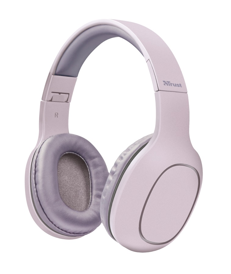 TRUST Bluetooth Headphones - pink