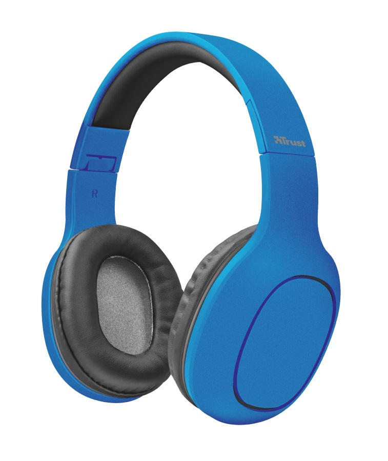 TRUST Bluetooth Headphones - blue