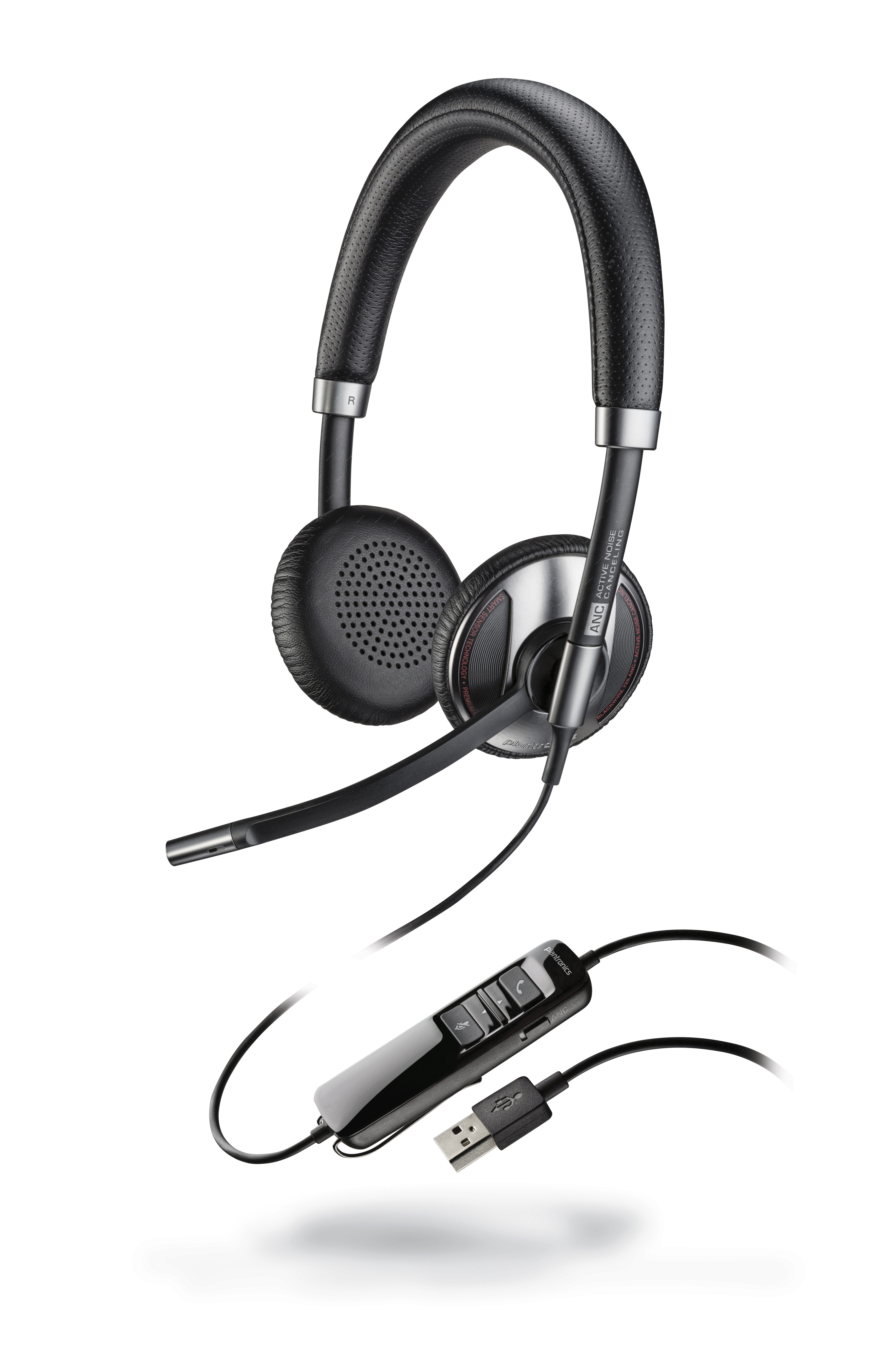 Plantronics Blackwire C725, Duo, USB, MS