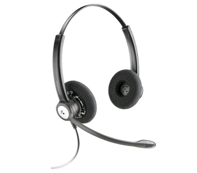 Plantronics HW121, Duo, QD, MS