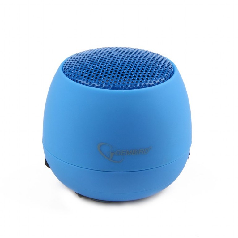 GEMBIRD Portable speaker SPK-103-B, blue