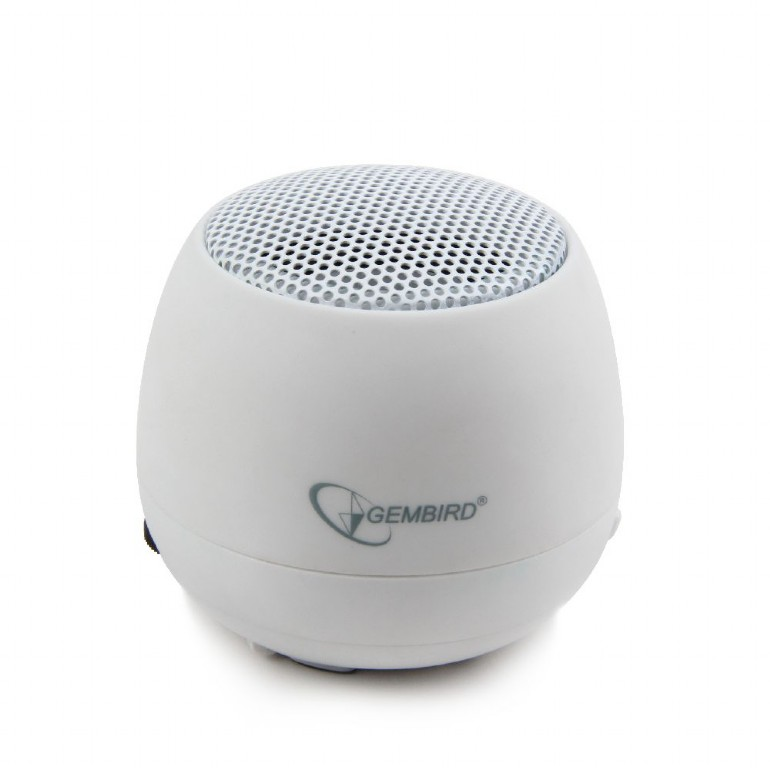GEMBIRD Portable speaker SPK-103-W, white