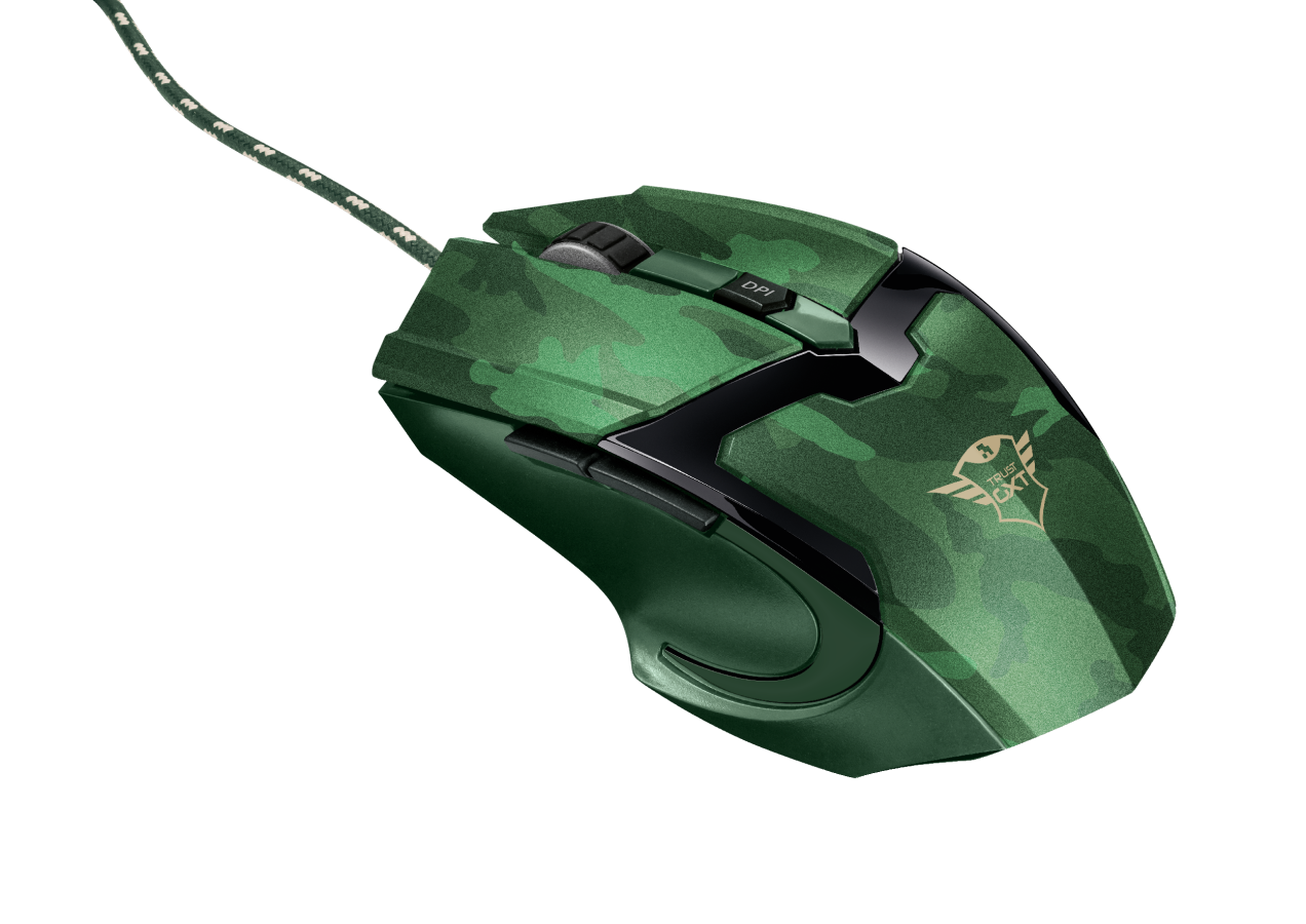 myš TRUST GXT 101D Gav Optical Gaming-junglle camo