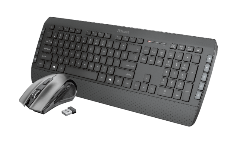 TRUST Tecla-2 Wireless Keyboard with mouse US