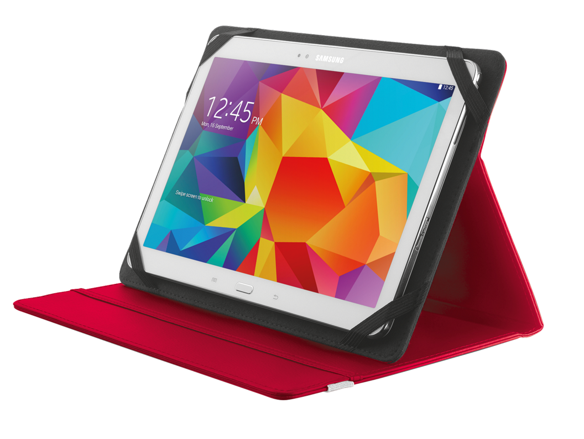 "TRUST Primo Folio Case with Stand for 10"" tablets - red"