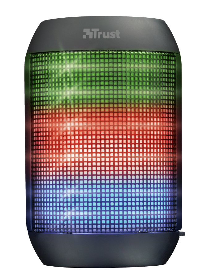 TRUST Ziva Wireless BT speaker with party lights