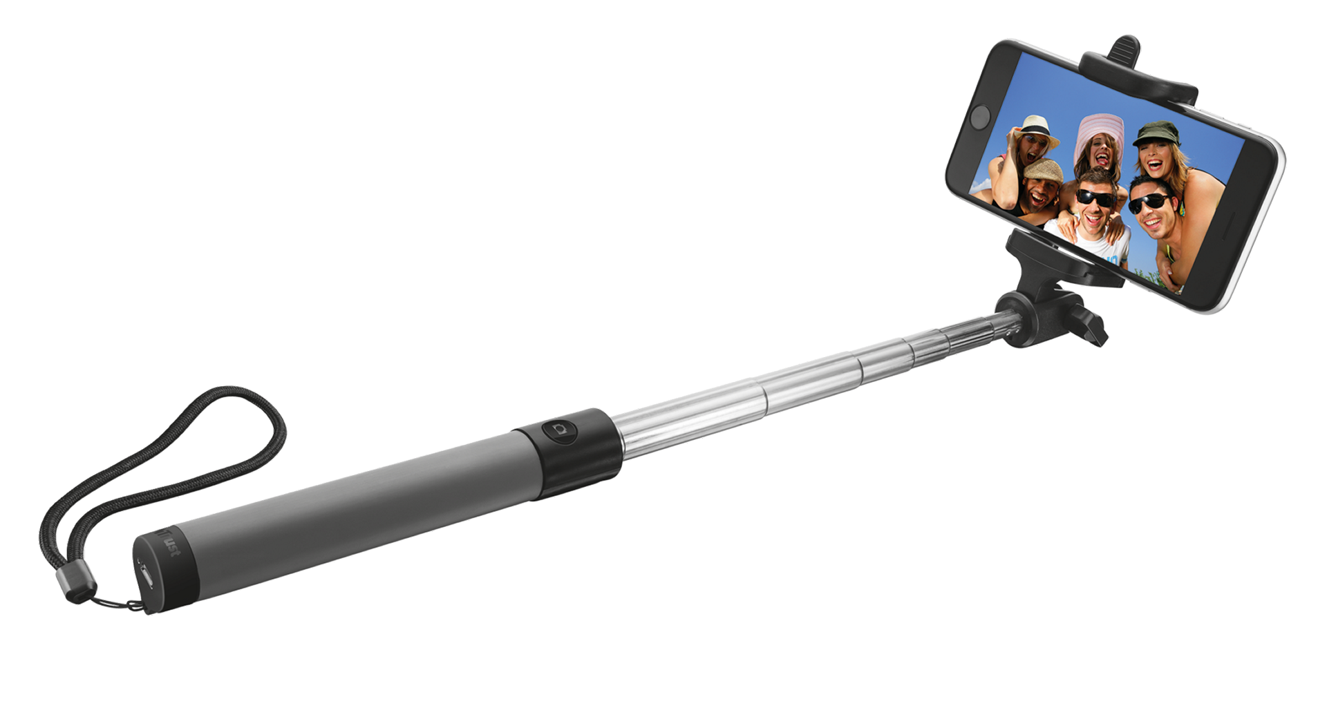 TRUST Bluetooth Foldable Selfie Stick - black