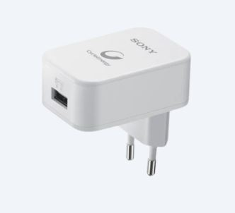 Sony AC/USB adaptér, 1 port, 150cm A-B kabel