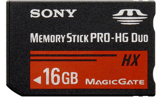SONY Memory Stick Pro DUO HighGrade MSHX16B,50MB/s