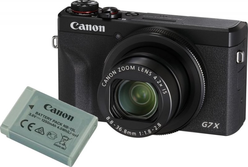 Canon PowerShot G7 X Mark III Black Battery kit