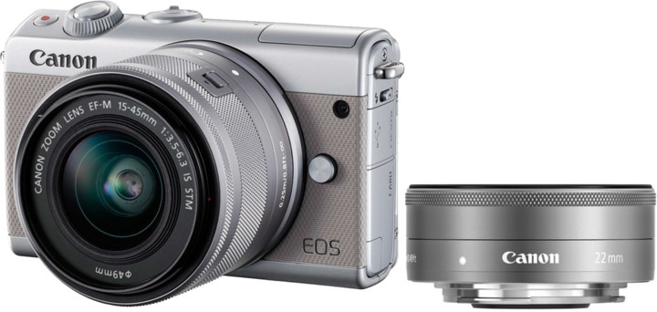 Canon EOS M100 GY M15-45 S+M22