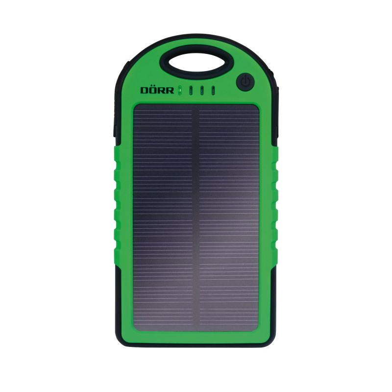 Doerr SOLAR PowerBank SC-5000 Black/Green