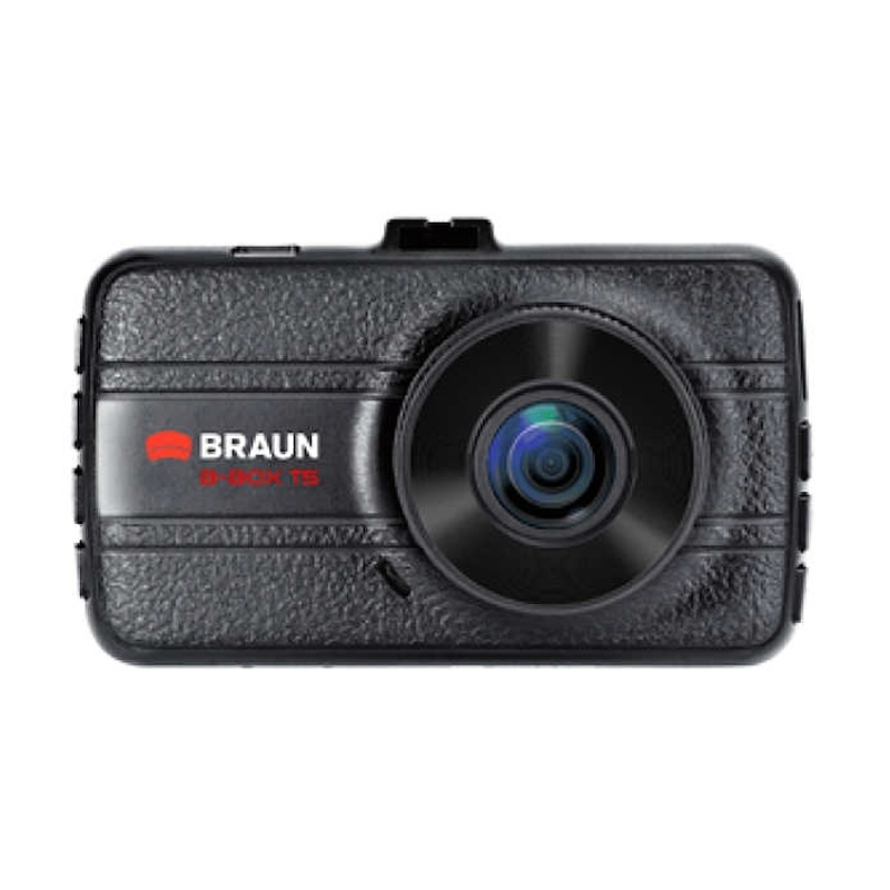 "BRAUN B-BOX T5 kamera do auta (Full HD, kovová, objektiv Ultralit 120°, 3""LCD, G-sensor, Loop)"