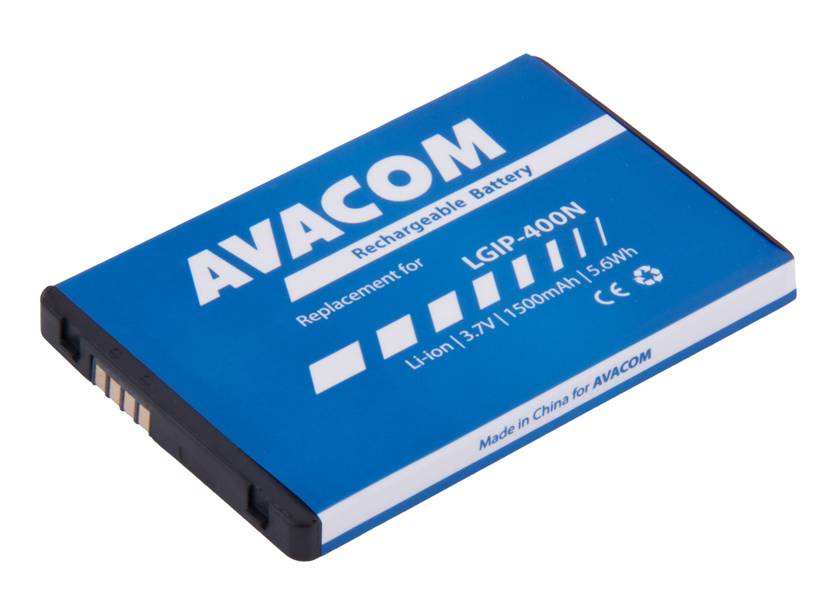 Baterie AVACOM GSLG-P500-1500 do mobilu LG P500 Optimus One Li-Ion 3,7V 1500mAh