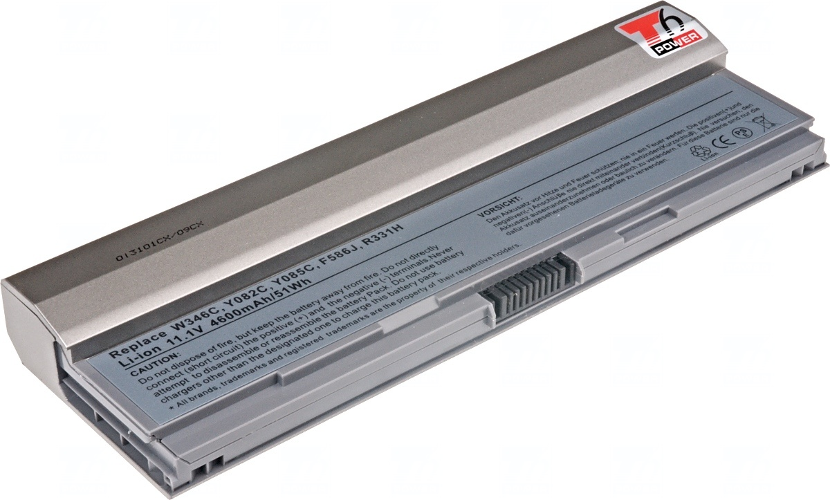 NBDE0108 Baterie T6 power Dell Latitude E4200, 4000mAh, 44Wh, 6cell