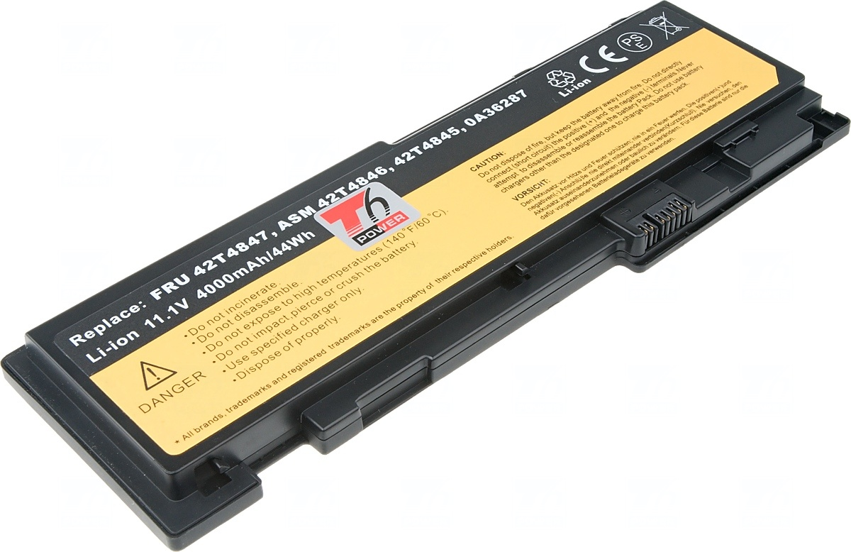 NBIB0103 Baterie T6 power Lenovo ThinkPad T420s, T430s, 4000mAh, 44Wh, 6cell