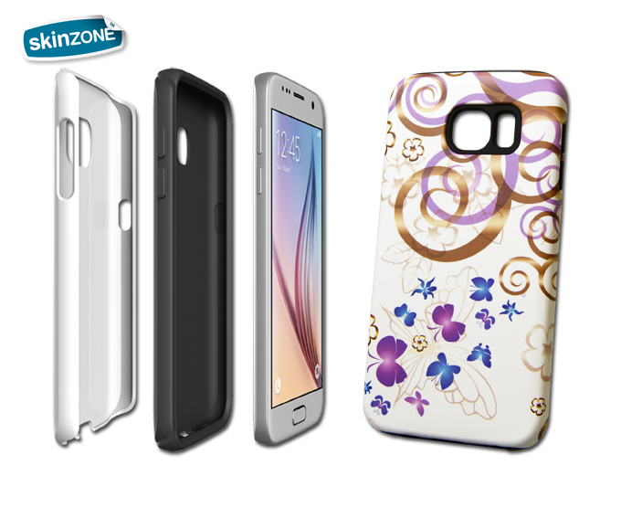 Skinzone Tough Case CRE0004CAT pro Galaxy S6