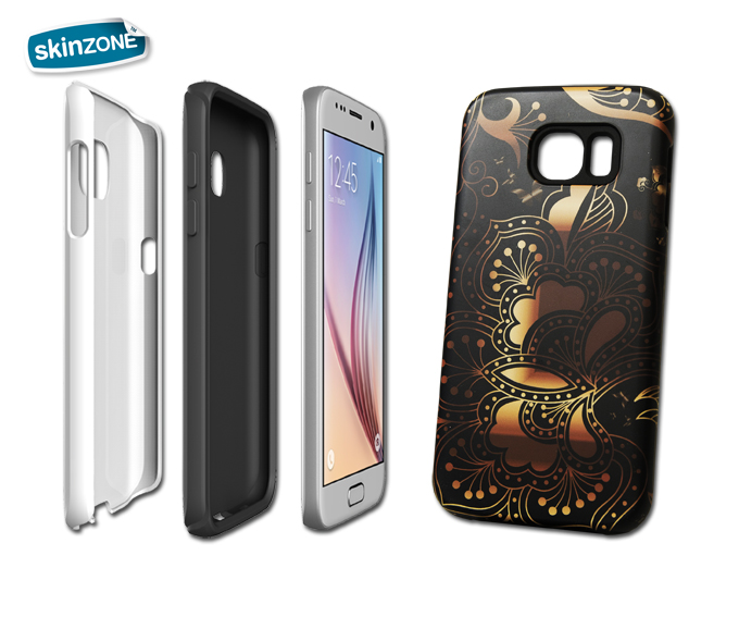 Skinzone Tough Case CRE0028CAT pro Galaxy S6