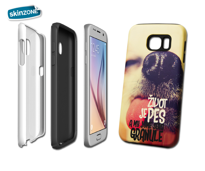 Skinzone Tough Case STA0006CAT pro Galaxy S6
