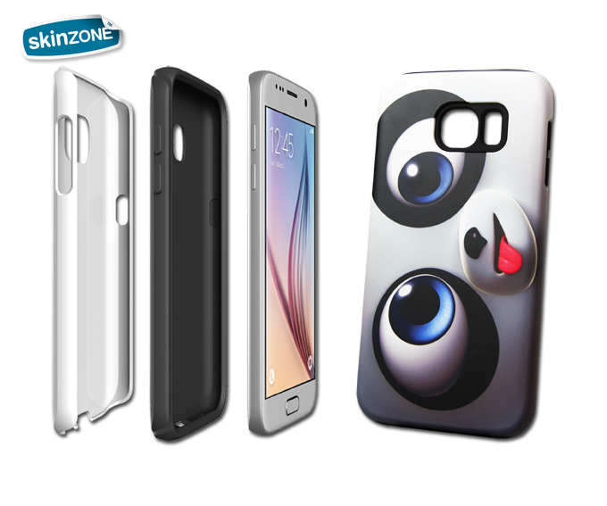 Skinzone Tough Case CRA0015CAT pro Galaxy S6 Edge