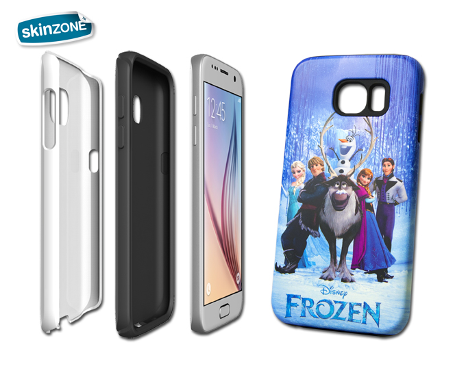 Skinzone Tough Case  DIS0003CAT pro Galaxy S6 Edge