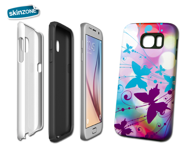 Skinzone Tough Case FLO0017CAT pro Galaxy S6 Edge