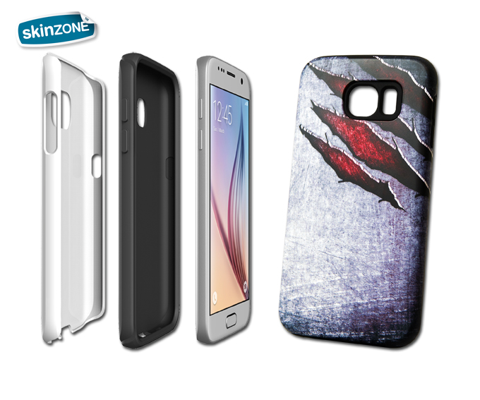 Skinzone Tough Case MET0027CAT pro Galaxy S7