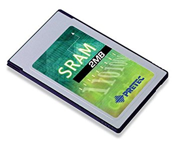 Industry Pretec PCMCIA SRAM Card 2MB MB86187 -20°C - +85°C (with 8KB A/M) 16bit