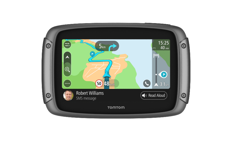 TomTom Rider 500 Europe pro motocykly, Wi-Fi, LIFETIME mapy