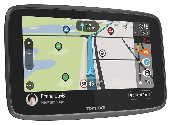 TomTom GO Camper World, LIFETIME mapy