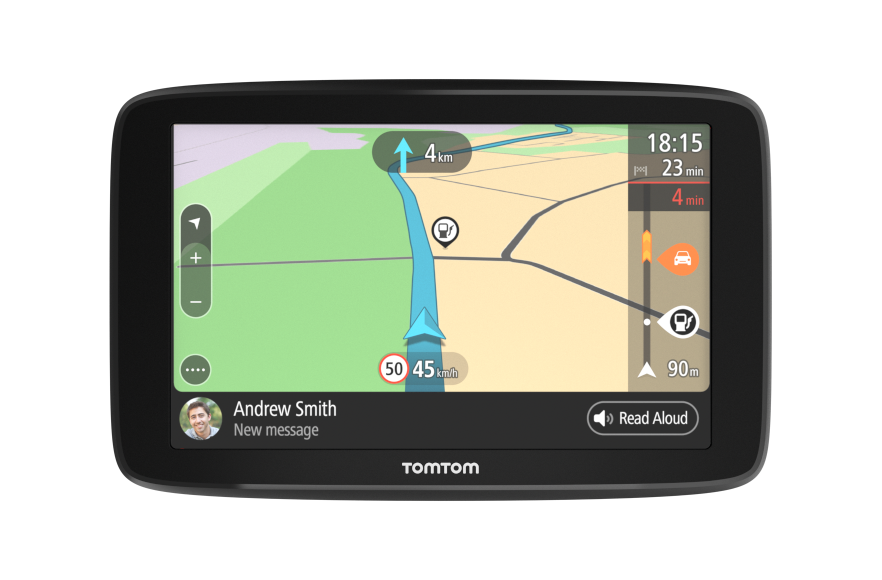 "TomTom GO Basic 5"" Europe, Wi-Fi, LIFETIME mapy"