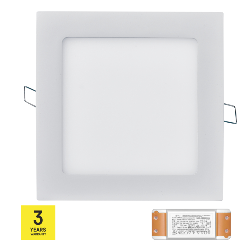 Stmívatelný LED PANEL VES. 12W NW triak driver