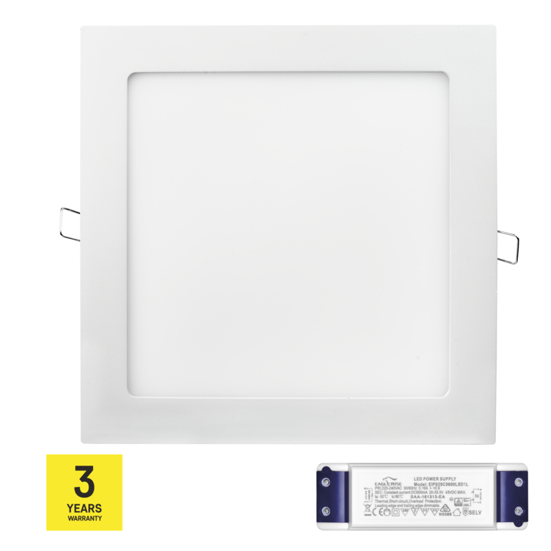 Stmívatelný LED PANEL VES. 18W WW triak driver