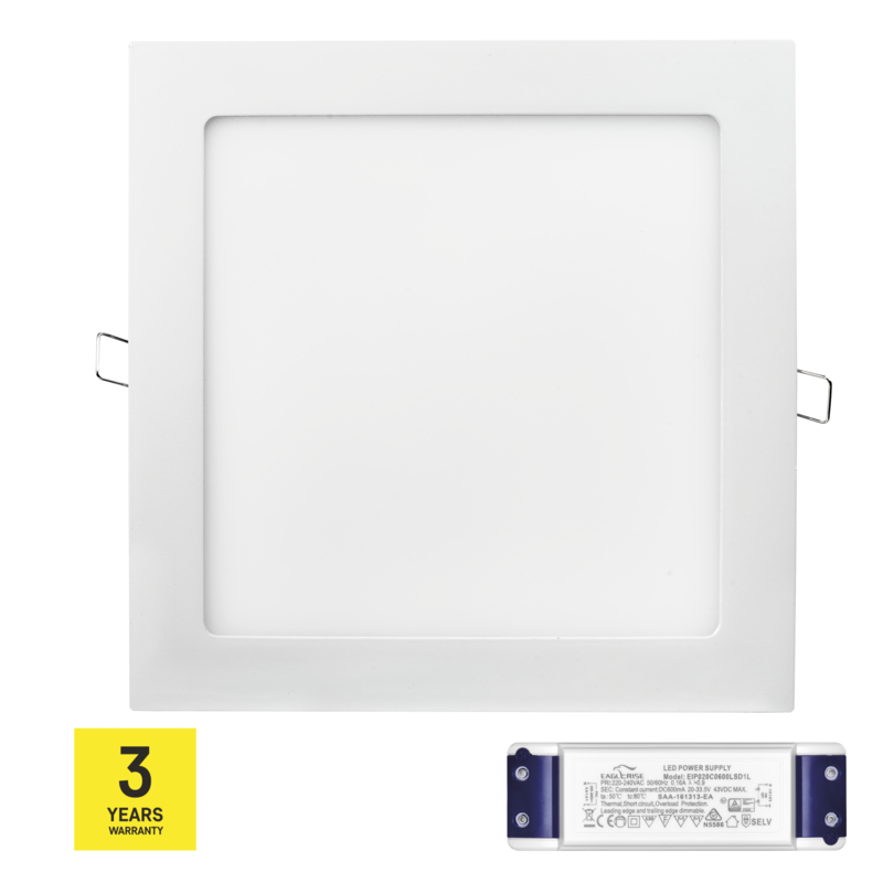 Stmívatelný LED PANEL VES. 18W NW triak driver