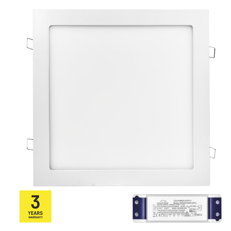 Stmívatelný LED PANEL VES. 24W NW triak driver