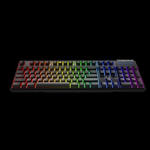 ASUS keyboard Cerberus Mech RGB BROWN(US layout) + dárek ASUS CERBERUS Pad SPEED