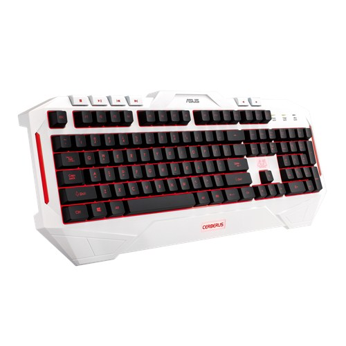 ASUS Cerberus arctic gaming keyboard (CZ/SK layout)