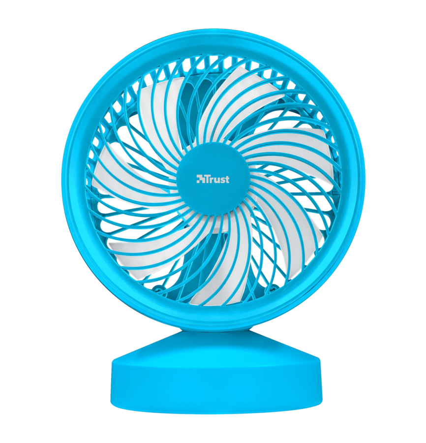 22580 TRUST Ventu USB Cooling Fan - blue