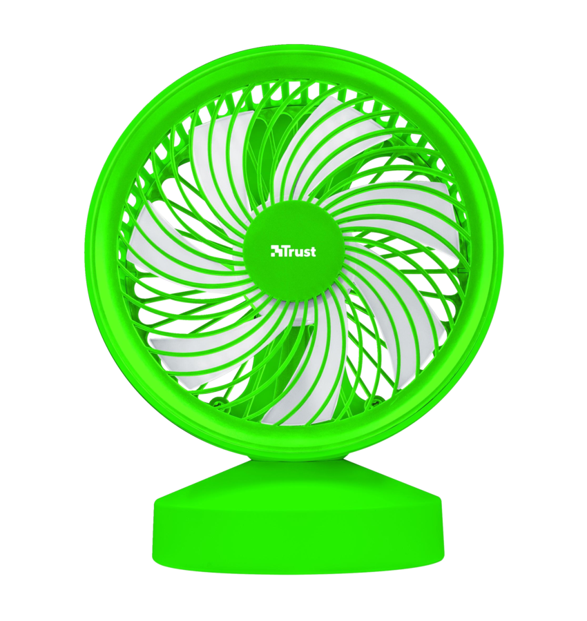 22581 TRUST Ventu USB Cooling Fan - green