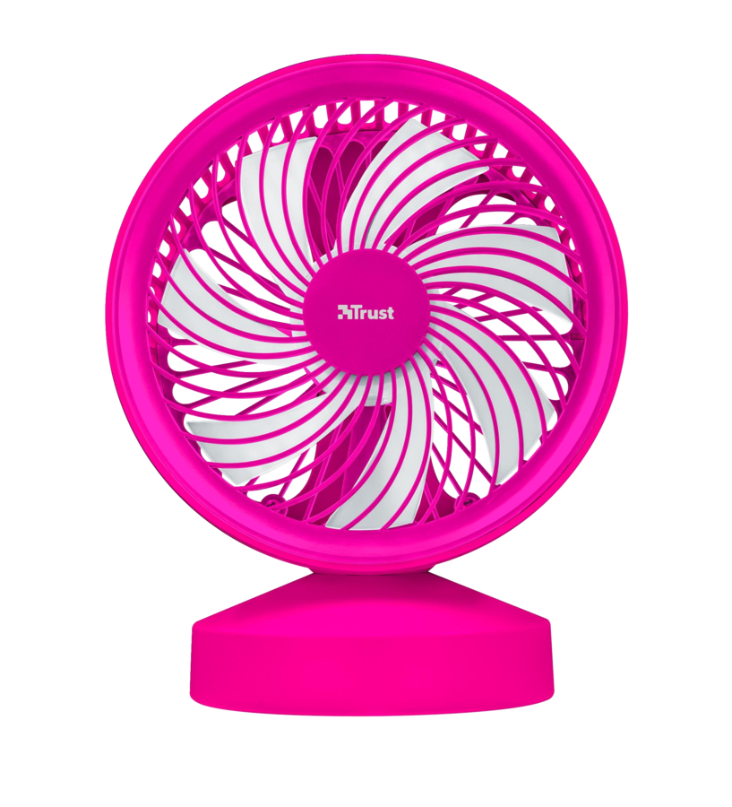22582 TRUST Ventu USB Cooling Fan - pink