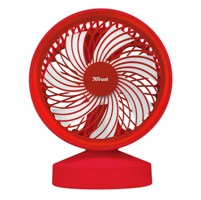 22585 TRUST Ventu USB Cooling Fan - red