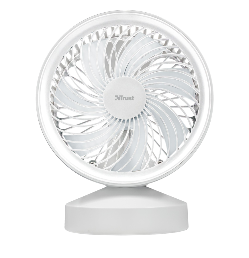 22746 TRUST Ventu USB Cooling Fan - white