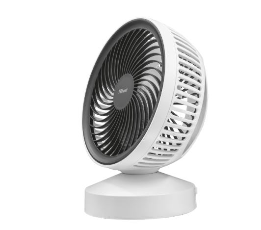 23072 TRUST Ventu USB Cooling Fan - white
