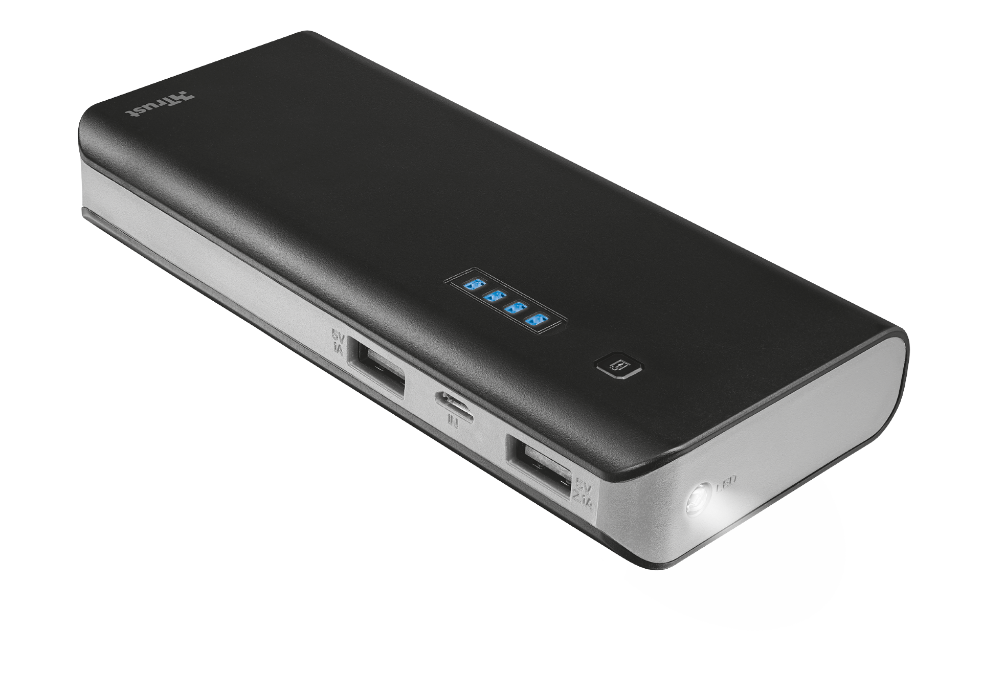 TRUST Primo Powerbank 10000 - black