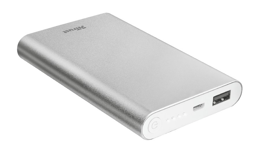TRUST Ula Thin Metal PowerBank 8000
